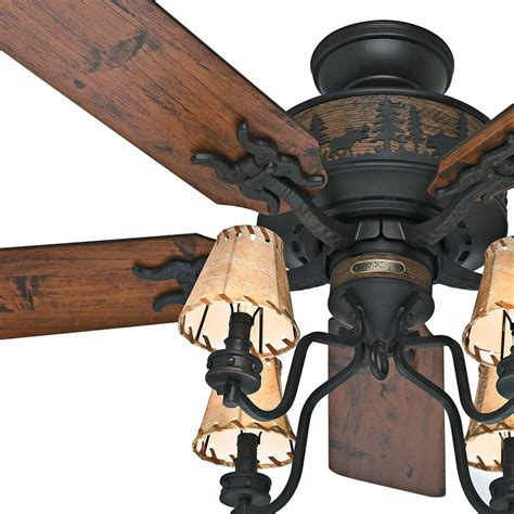 rustic looking ceiling fans rustic ceiling fans bears wildlife ceiling fan hton