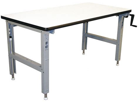 proline bench pro line workbench laminate 60 quot w 36 quot d 16d730