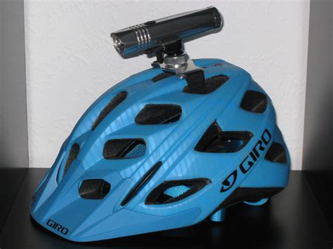 Helmet Mounted Bike Light Review Bicycling And The Best