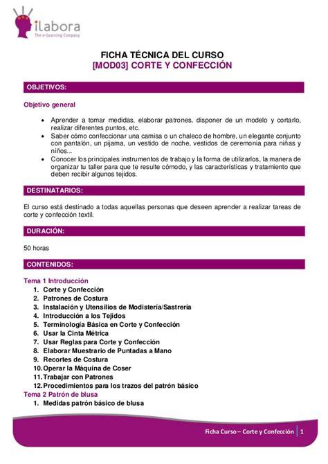 curso online corte y confeccion curso online de corte y confecci 243 n