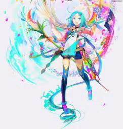colorful anime colorful anime