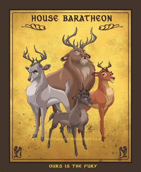 disney x got renly baratheon of thrones houses as disney animals