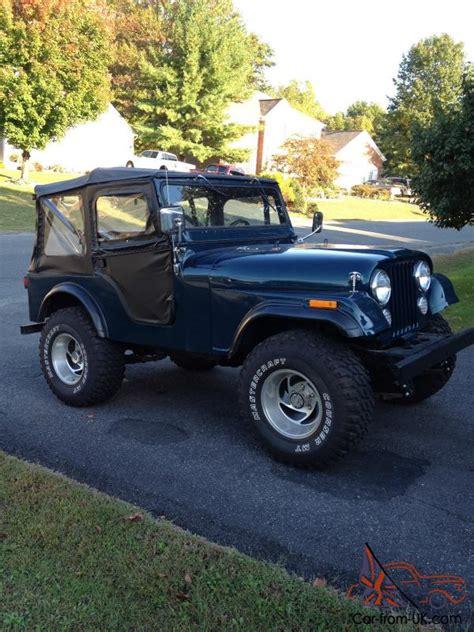 1972 Jeep Cj5 For Sale 1972 Jeep Cj5 Base Sport Utility 2 Door 5 0l
