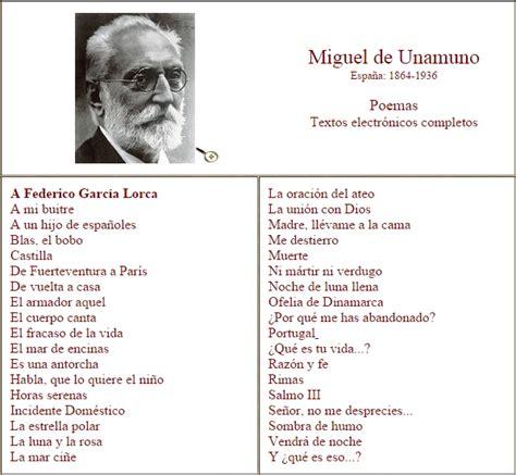 imagenes y simbolos en la poesia de miguel hernandez conclusion poemas de miguel de unamuno ciudad seva didactalia
