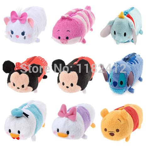 Mickey Minnie Lilo Piglet Pooh Chip 6 Pcs Figure Set Disney popular chip toys buy cheap chip toys lots from china chip toys suppliers on aliexpress