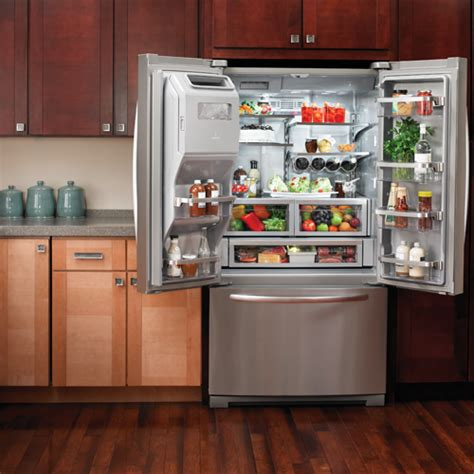 Kitchenaid Refrigerator Kfiv29pcms Kitchenaid Kfiv29pcms 26 8 Cuft Door Refrigerator