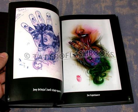 tattoo hand book tattooflashbooks com dimitri hk steph d and benjo san