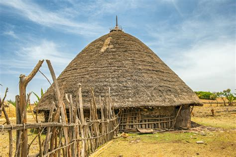afrika haus traditionelles haus in 196 thiopien afrika stockbild bild