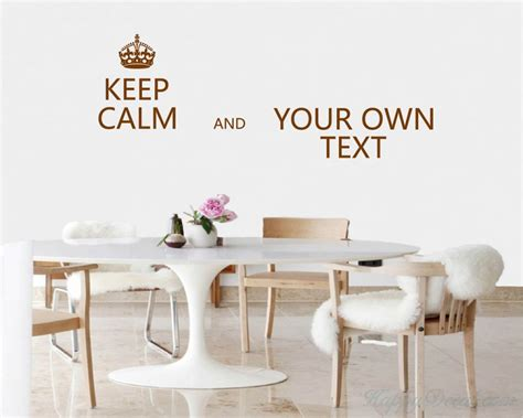 Customize Your Own Lettering keep calm customize your own quotes vinyl lettering decal