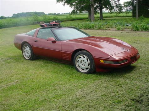 airbag deployment 1992 chevrolet corvette security system 1992 corvette hatchback coupe no reserve for sale in