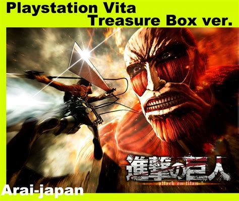 Bd Ps4 Attack On Titan Reg3 Japan Ps Vita Attack On Titan Treasure Box Japanese