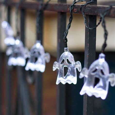 halloween ghost string lights halloween yard decoration lights home designing