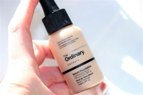 Ordinary Serum Foundation the ordinary serum foundation review before after