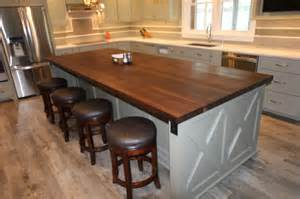 walnut butcher block countertop walnut edge grain butcher block countertop detroit by