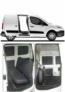 Fiat Doblo Cer Conversion Vanarack Fiat Doblo Rear Seat Conversion Kit
