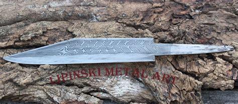 pattern welding knife pattern welded seax show and tell bladesmith s forum board