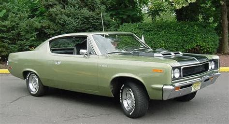 green rambler car almost a mopar but the price is right for a bodies