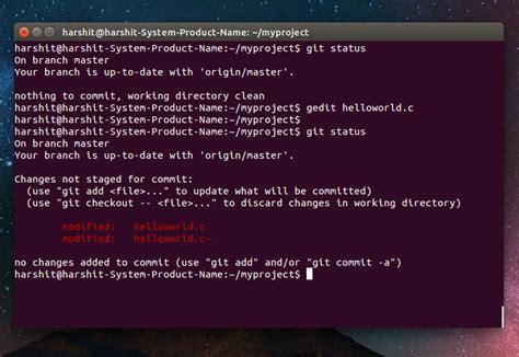 git tutorial for ubuntu how to use git in ubuntu part 2 geeksforgeeks