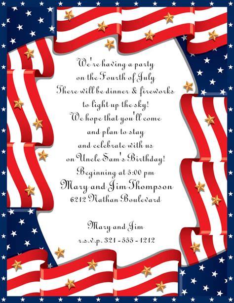 patriotic invitation templates free patriotic pictures image search results