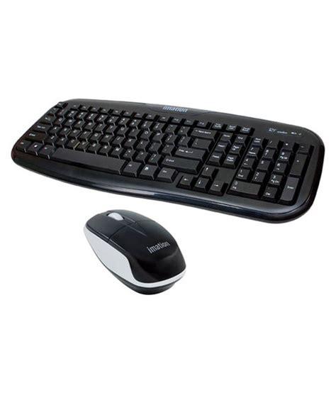 Imation Mouse Wireless Wms 300 imation wkm 300 black wireless keyboard mouse combo