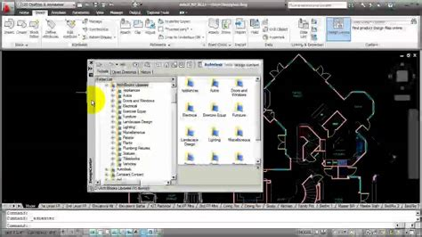 design center window autocad autocad how to use design center youtube