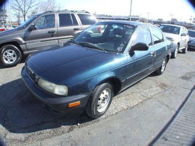 how petrol cars work 1997 suzuki esteem electronic throttle control buy 1997 suzuki esteem120 903 sedan alpine green 97940
