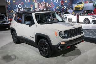 Jeep Renegarde New 2017 Jeep Renegade Deserthawk To Debut At L A Auto