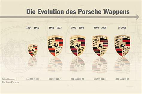 Porsche Entwicklung by Das Porsche Wappen Entwicklung Und Herstellung