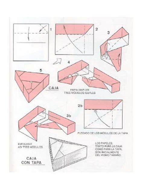 Origami Club Box - origami box