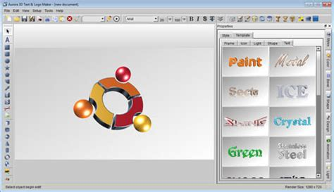 3d text design software free 3d text logo maker graphic design software 25