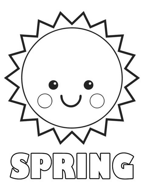 sun coloring page pdf spring sun coloring pages spring sun coloring pages