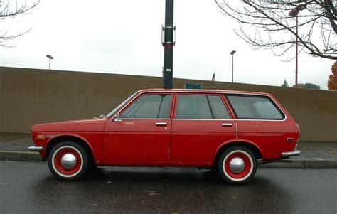 1972 datsun station wagon parked cars 1972 datsun 510 wagon