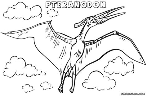 pteranodon coloring pages coloring pages to download and