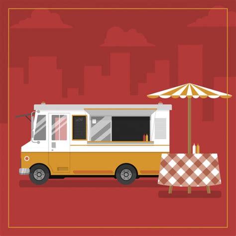 food truck design vector food truck background design vector free download