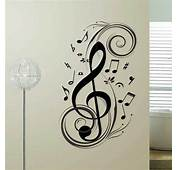Music Note Wall Sticker Removable Vinyl Decal Home