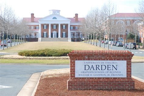Virginia College Mba by Darden School Of Business Of Virginia Club