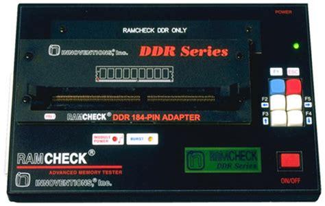 test ram ram test for ddr memory