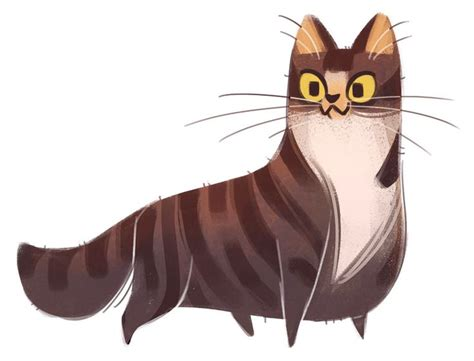 Kaos Animal Character 08 329 tabby by daily cat drawings on 插畫 character design characters and