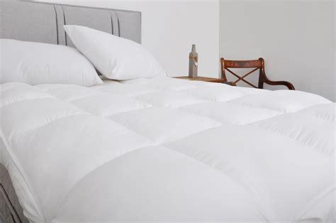 Thick Cotton Mattress Topper Slight Seconds Luxury 10cm 4 Inch Thick Cotton Mattress Topper Enhancer Ebay
