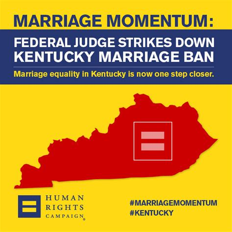 State Of Kentucky Marriage License Records Kentucky Marriage Ban Struck By Federal Judge Me Up