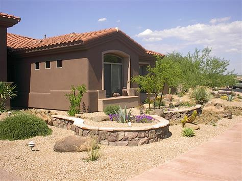 home backyard designs desert landscaping ideas to make your backyard look