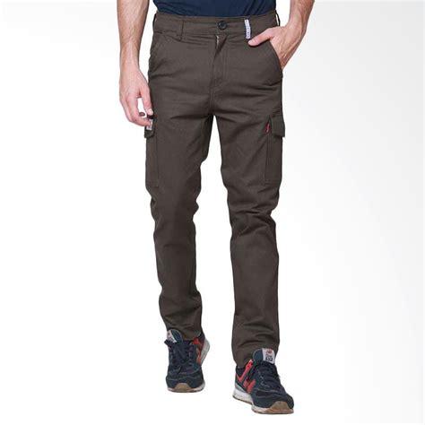 Celana Cargo Panjang Volvom Celana Panjang Pria jual oliveinch cargo baxter celana panjang pria darkbrown harga kualitas terjamin