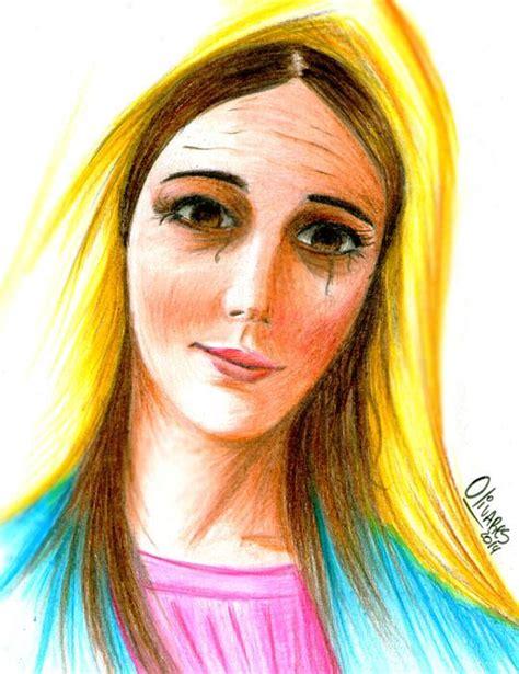 imagenes a lapiz de la virgen maria rostro virgen maria a lapiz imagui