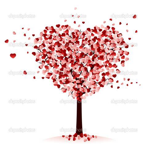 images of love tree 14 love tree vector images cartoon heart tree love