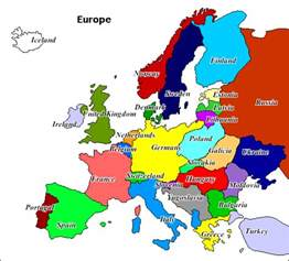 Map Of Europe Today by Europe Cold Phoney War Alternative History
