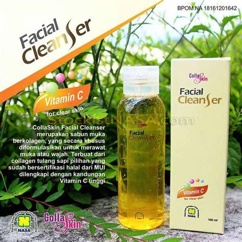 Collaskin Cleanser Garansi 100 Asli Dari Pt Nasa collaskin cleanser with collagen and vitamin c