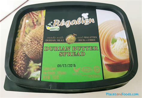 alibaba durian 2017 world s first durian butter spread from malaysia
