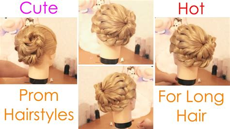 Homecoming Hairstyles For Hair Tutorial by Cutest Prom Hairstyle For Hair Beautiful Prom