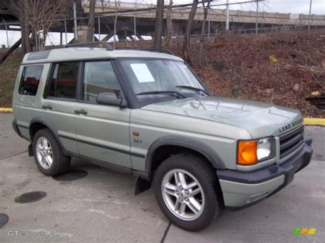 land rover discovery exterior vienna green pearl 2002 land rover discovery ii se7