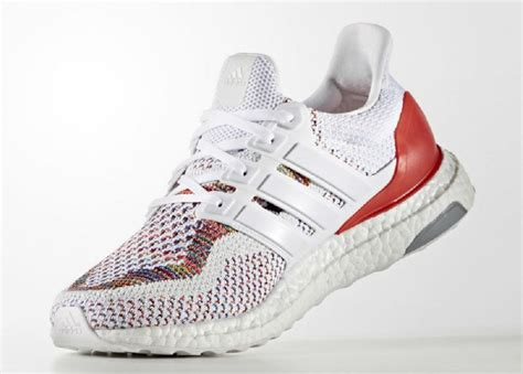 Sepatu Adidas Ultra Boost Rainbow White Multicolor Sneaker New 2017 adidas ultra boost multicolor will finally see release